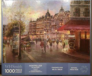 Puzzle 1000 piezas. Montpellier.