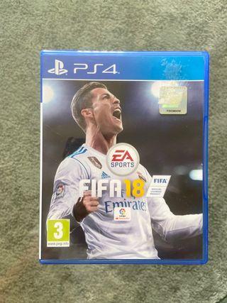 FIFA 18 juego ps4
