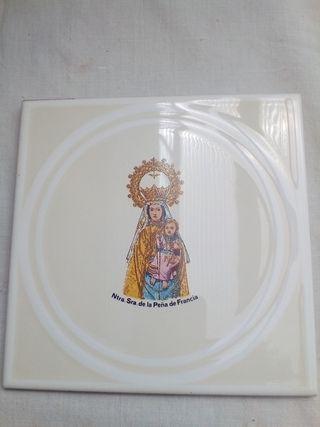 Azulejo de la Virgen de la Peña de Francia