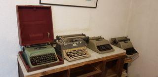 maquinas escribir lote de 9