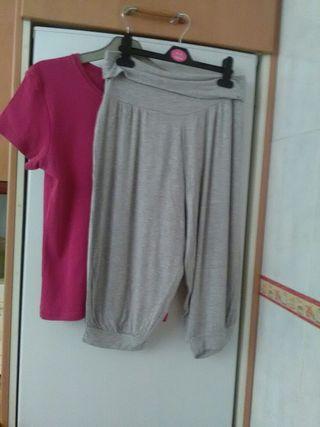bermuda + camiseta ( talla L ). TODO POR 3€.