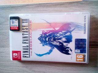juego final fantasy XII Zodiac Age Nintendo Switch