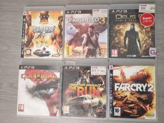 6 videojuegos de PlayStation 3