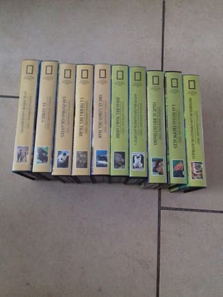 vhs colección national geographic