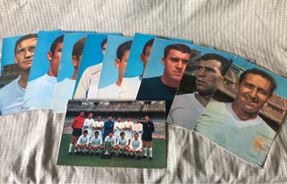 Postal Real Madrid campeón liga 67/68