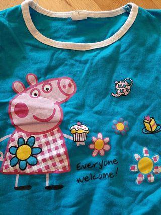 Vestido Peppa Pig 6 años