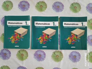 Pack 3 Libros Matemáticas