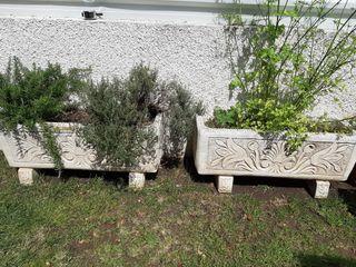 Jardineras piedra