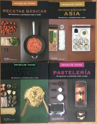Libros Escuela de cocina