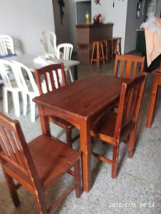 mesa ysillas