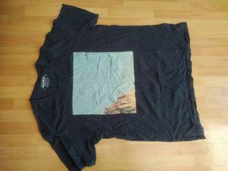 camiseta hombre Pull&Bear talla L