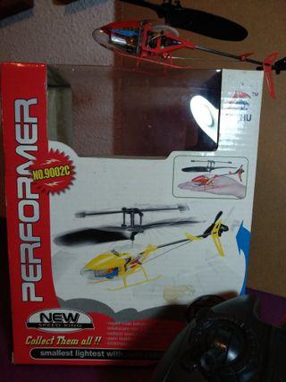 Mini Helicoptero Radio Control Remoto.