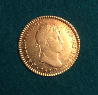 Moneda Fernando VII 1812 CECA Cádiz de Oro oferta