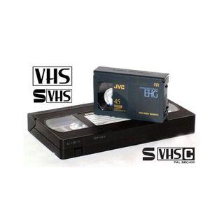 SE PASAN CINTAS VHS A DVD Y USB