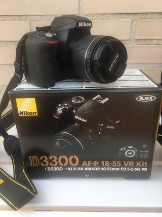 Cámara Réflex Nikon D3300