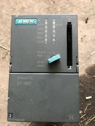 Autómata Siemens S7 300 315-2 DP