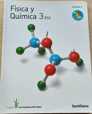 Libro de texto Fisica Quimica 3° ESO