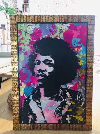 Cuadro Jimmy Hendrix 103x73