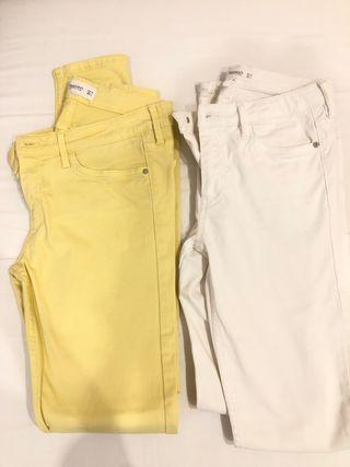2 pantalones Mango. Talla 36