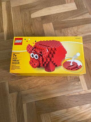 Hucha lego sin abrir