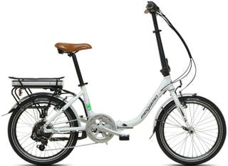 bicicleta electrica Folder Megamo chip 3.0 como nu
