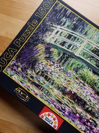 Puzzle EDUCA 1500 piezas - art collection.