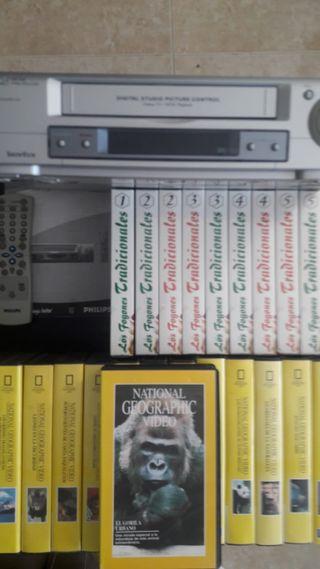 VÍDEO VHS Y COLECCIÓN NATIONAL GEOGRAFIC