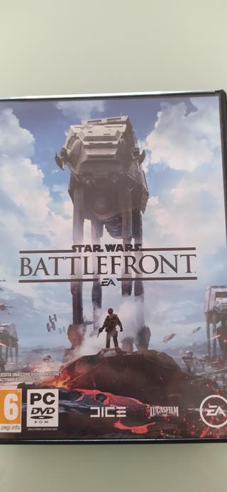 Battlefront para pc.