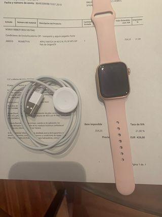 AppleWatch serie 4 rosa