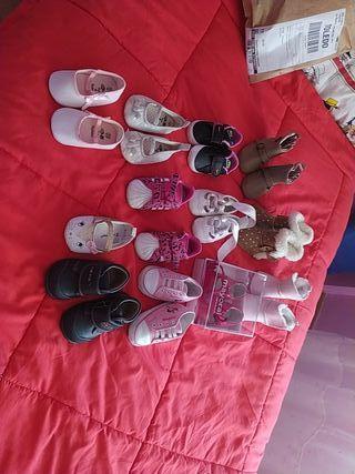pack completo de zapatos bebé