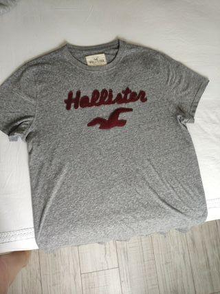 camiseta hombre Hollister talla L