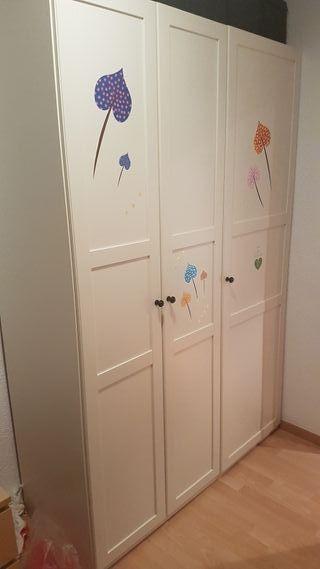armario ikea blanco