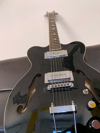 """Guitarra semicaja inlgesa """"Alden"""""""