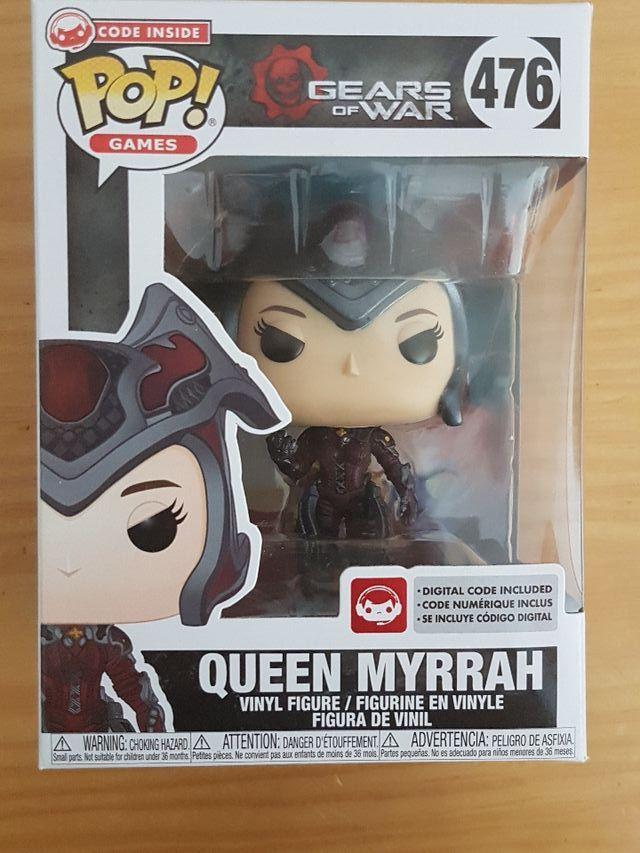 Funko Pop Gears of War Queen Myrrah