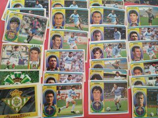 Cromos de la liga 96/97