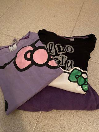 Pijama Hello Kitty manga larga