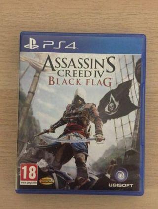 Assasin's Black Flag PS4