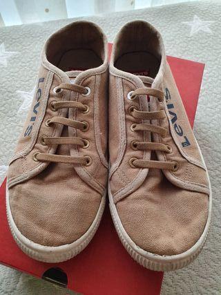 Bambas/zapatillas niño tela talla 36
