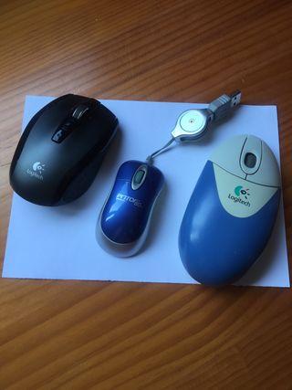 Ratones ordenador