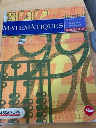 Matemáticas 2o bat