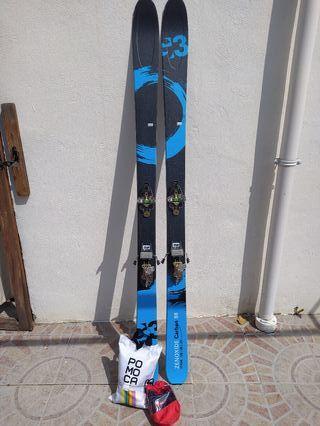 Esquís de travesía (PRECIO NO NEGOCIABLE)