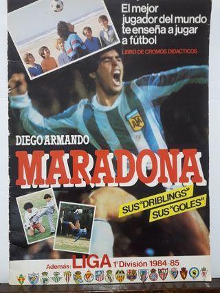 Álbum Maradona 84-85