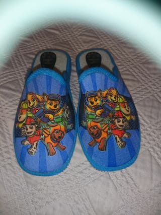 Zapatillas estar en casa niño