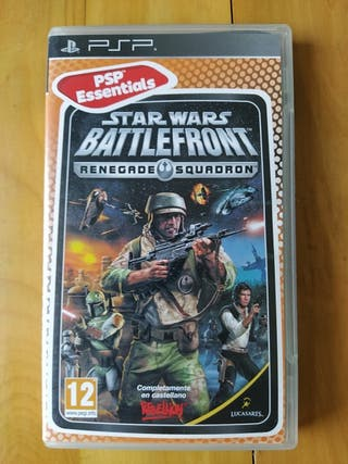 Juegos PSP (Star Wars Battlefront Renegade )