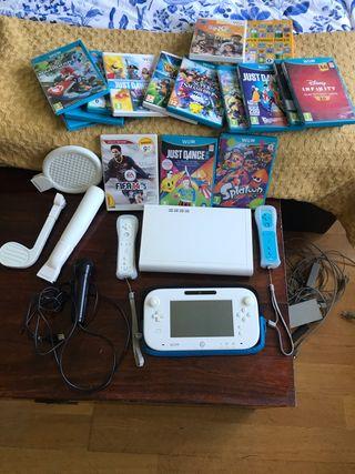 Wii U más accesorios y 16 juegos