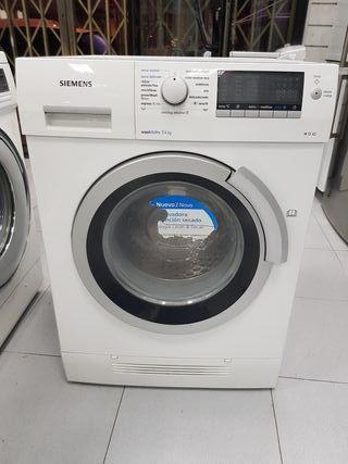 lavadora con secadora Marca siemens 7 + 4kg