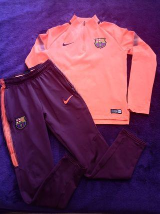 Chándal Barcelona 10-12 años