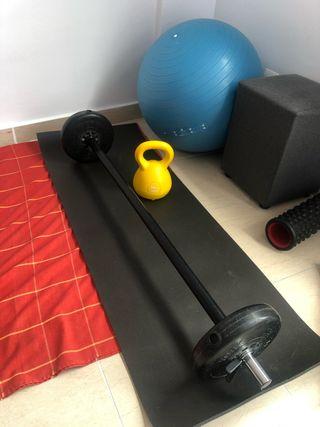 Material Fitness musculação gimnasio