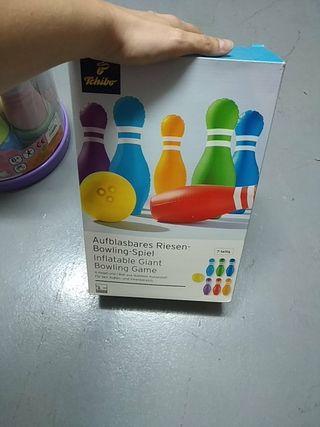 juego de color hinchables