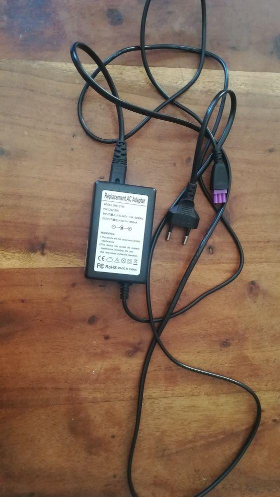 Cable alimentación Impresora